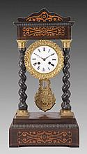A FRENCH NAPOLEON III MANTEL CLOCK