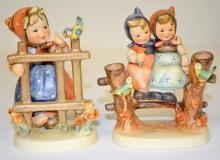 Two Goebel Hummel Figurines: 1)