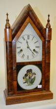Antique E.N. Welch Walnut Shelf Clock,