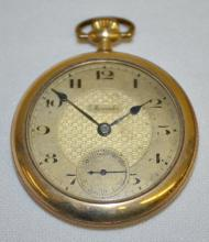 Mercador, 16S 7J 2 Adj. Pocket Watch: The movement is signed and marked