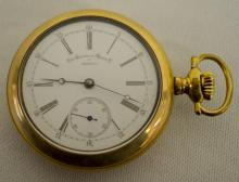 Non-Magnetic Watch 15J OF DMK Pocket Watch No. 56175 marked