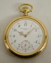 Patek Philippe & Cie - Geneve 42MM OF Pocket Watch No. 119642: With a 2 finger movement that is marked