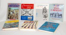Seven Civil War Related Books: 1) Great Battles of the Confederacy; 2) Sons of the South; 3) Civil War Guns; 4) Civil War Collector's Encyclopedia; 5) Photographic History of the Civil War Cavalry; 6) Uniforms of the Civil War; 7) Confederate Arms