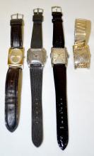 Four Bulova Wrist Watches