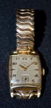 Lord Elgin 626, 21J, 4 Adj's, No. J858128 Wrist Watch