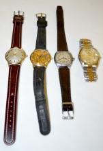 Four Waltham Wrist Watches