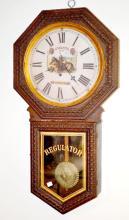 Antique Ingraham Advertising Wall Clock