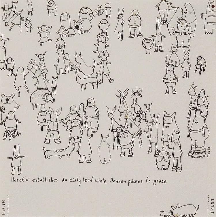 Moose Allain - 'Horatio Establishes an Early