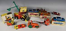 A small collection of Dinky Toys vehicles,