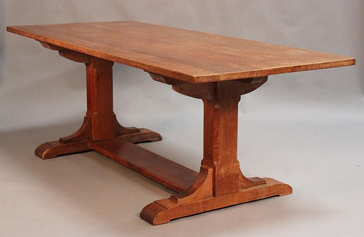 A mid-20th Century Heals oak dining room suite,