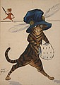 Violet Roberts - Anthropomorphic Cats wearing