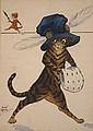 Violet Roberts - Anthropomorphic Cats wearing