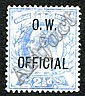 Philatelic - Great Britain: 1902 EVII 2½d O.W.