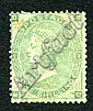 Philatelic - Great Britain: 1862 1 shilling green,