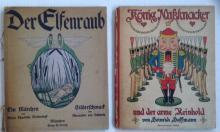 (2) GERMAN CHILDRENS BOOKS, ILLUSTRATED BY HEINRICH HOFFMAN & CHARLOTTE SIEDENTOPF C1900