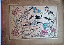 GERMAN CHILDREN'S  BOOK (1), LOTHAR MEGGENDORFER, 1885 MUNICH