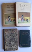 (3) JAPANESE TEA & POETRY BOOKS, HIGHLY ILLUSTRATED, 1906, 1923
