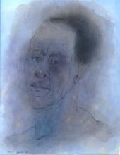 JEAN OLDS KEATING, STUDIO PORTRAIT, 'AFRICAN AMERICAN', 1963