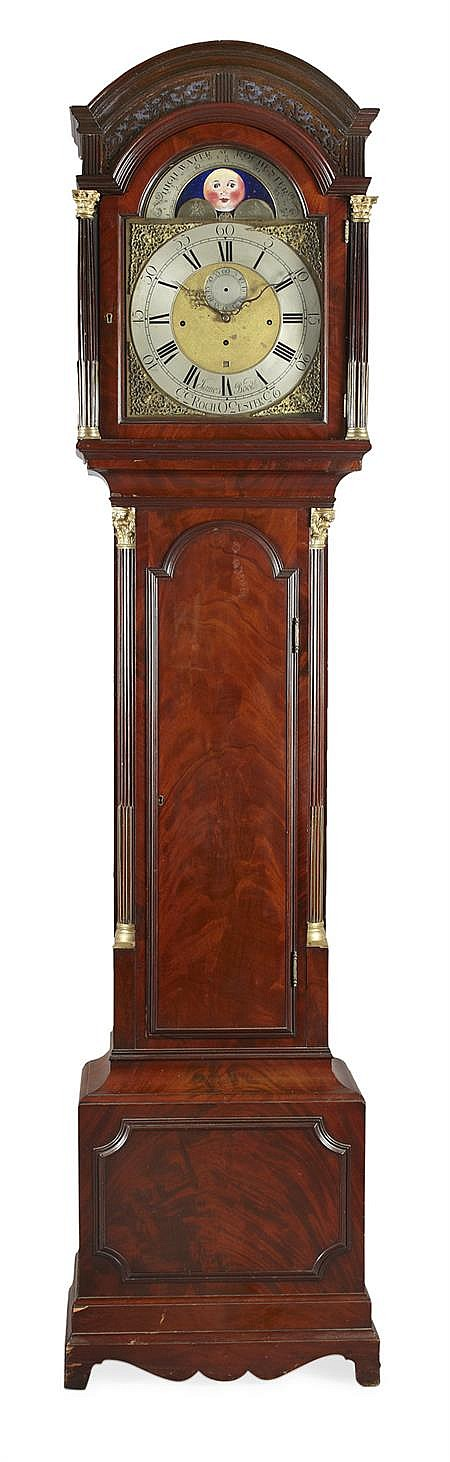 GEORGE III MUSICAL LONG CASE CLOCK BY JAMES BOOTH, ROCHESTER EARLY 19TH CENTURY 53cm wide, 240cm high
