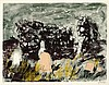 § JOHN PIPER C.A. (BRITISH 1903-1992) RUINED CHAPEL, ISLE OF MULL, 1975 69cm x 86cm (27in x 34in), John Piper, £500