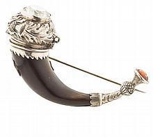 A Scottish market vinaigrette brooch