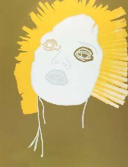 GARY HUME PORTRAITS 1998 - ANGEL 108cm x 86cm