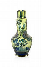 ATTRIBUTED TO LOETZ CAMEO GLASS VASE, CIRCA 1910 21cm high