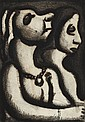 § GEORGES ROUAULT (FRENCH 1871-1958) DEUX MATRONES 28cm x 19cm (11in x 7.5in)