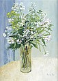 § PERPETUA POPE (SCOTTISH 1916-2013) JIM'S BUNCH 56cm x 41cm (22in x 16in)