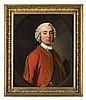 ALLAN RAMSAY (SCOTTISH 1713-1784) HALF LENGTH PORTRAIT OF LORD JOHN MURRAY (1711-1787) 76cm x 63cm (30in x 25in)