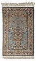 CENTRAL PERSIAN PRAYER RUG POSSIBLY ISFAHAN, MODERN 248cm x 153cm