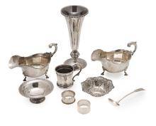 A collection of modern silver Weight: 34oz