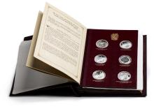 An album of The Churchill Centenary medals by Spink