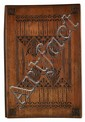 GLASGOW SCHOOL CHIP CARVED BEECH WOOD BLOTTER, CIRCA 1900 38.5 x 25cm