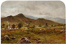 WALLER HUGH PATON R.S.A., R.S.W. (SCOTTISH 1828-1895) DULLATUR 24cm x 35.5cm (9.5in x 14in)