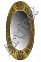 * SCOTTISH SCHOOL BRASS FRAMED WALL MIRROR, CIRCA 1930
