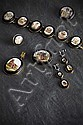 A 19th century suite of micro mosaic set jewellery