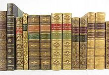 Bindings - Art reference, handsomely bound, 24 volumes, including