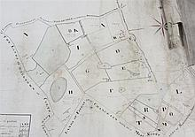 Manuscript estate plan - 'Scots-Tarvet', Fife