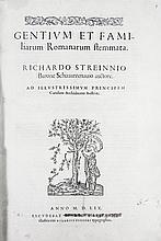 Strein von Schwarzenau, Richard