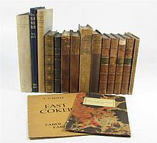 Poetry, 17 volumes, including Churchill, C.