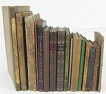 Scottish Provincial printing, 16 volumes, including [Sanquhair]