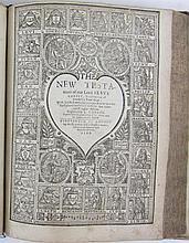 Holy Bible, English, 1599
