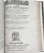 Holy Bible, English, Geneva version