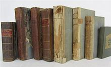 Travel and topography, 8 volumes, including Owen, John
