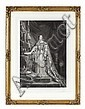 AFTER SIR GEORGE HAYTER QUEEN VICTORIA IN CORONATION ROBES 76cm x 52cm (30in x 20.5in)