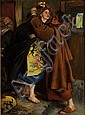 SIR JOHN EVERETT MILLAIS P.R.A. (BRITISH 1829-1896) ESCAPE OF THE HERETIC 25.5cm x 19cm (10in x 7.5in)
