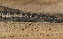 § JOAN EARDLEY R.S.A. (SCOTTISH 1921-1963) THE TWELVE APOSTLES 44cm x 73cm (17.5cm x 28..75in)