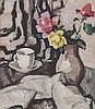 SAMUEL JOHN PEPLOE R.S.A. (SCOTTISH 1871-1935) STILL LIFE WITH ROSES 46cm x 41cm (18in x 16in), Samuel John Peploe, £72,000