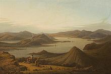 * ROBERT SALMON (SCOTTISH/AMERICAN C.1775-1840) EYLES OF BUTE, LOOKING NORTH 40.5cm x 58.5cm (16in x 23in)